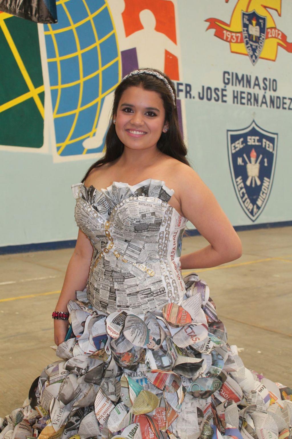 """Maricruz Santacruz, ganadora de la segunda edición del certamen de """"Señorita Ecológica 2013"""". Fotos: Johana Ochoa"""