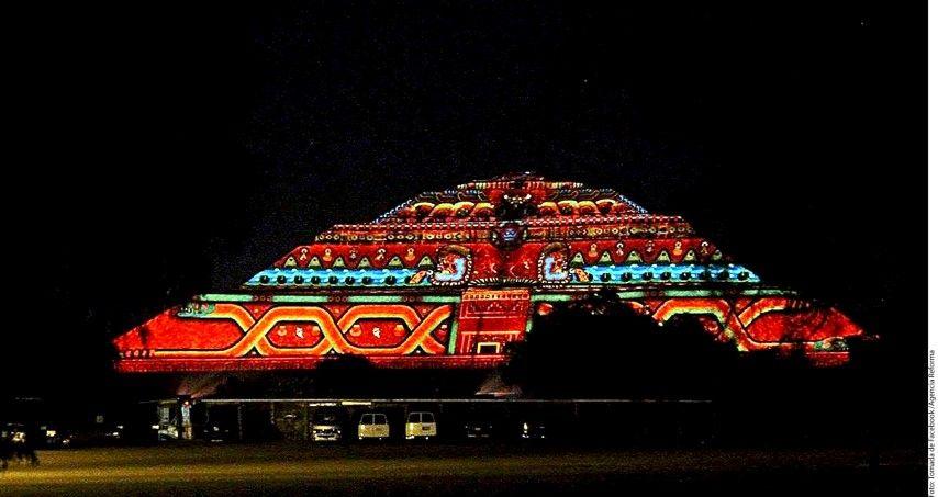 teotihuac n bajo otra luz el vig a On espectaculo de luces en teotihuacan