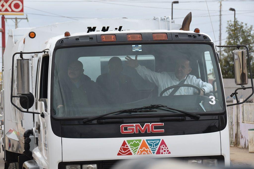Integra Marco Novelo ocho camiones nuevos al servicio de recolección ...