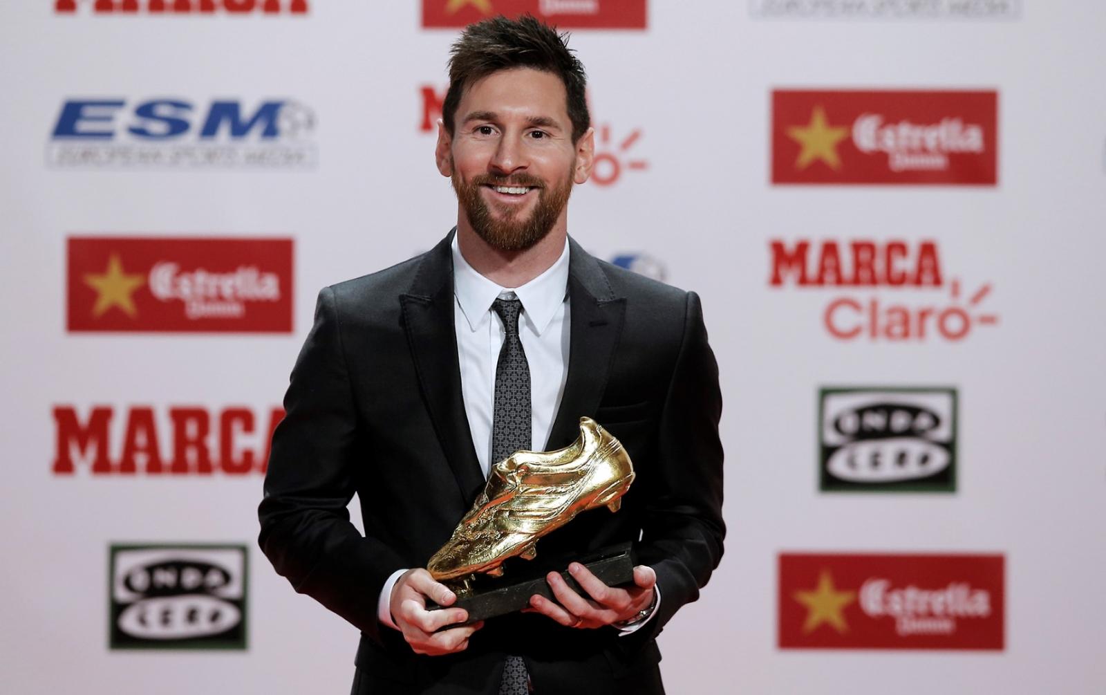 Messi 'bota de oro' en Europa por cuarta vez — Una sana costumbre