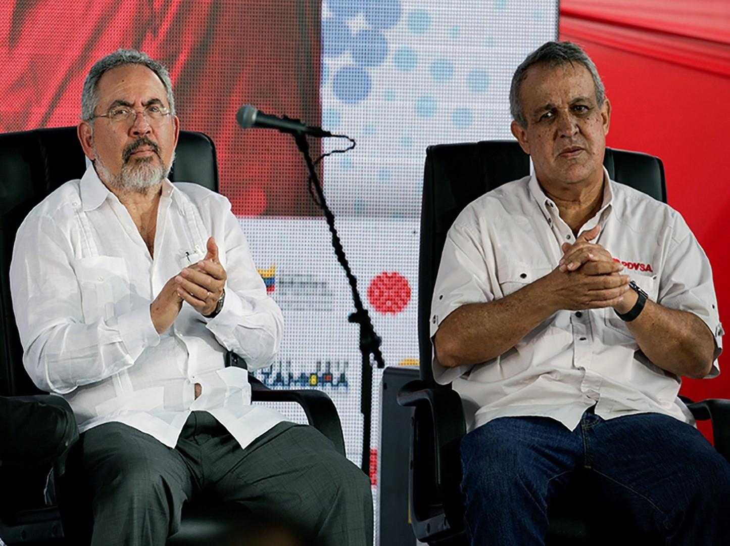 Detenidos, ex ministro de Petróleo de Venezuela y ex presidente de PDVSA