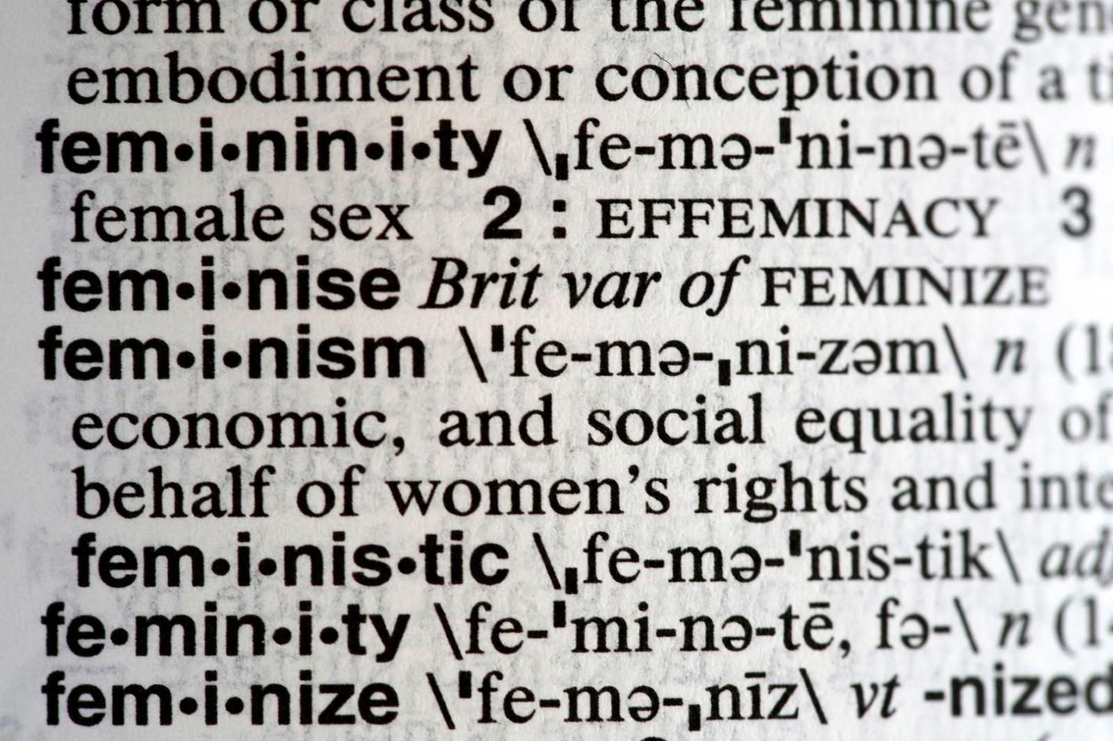 'Feminismo', la palabra del 2017 en Estados Unidos