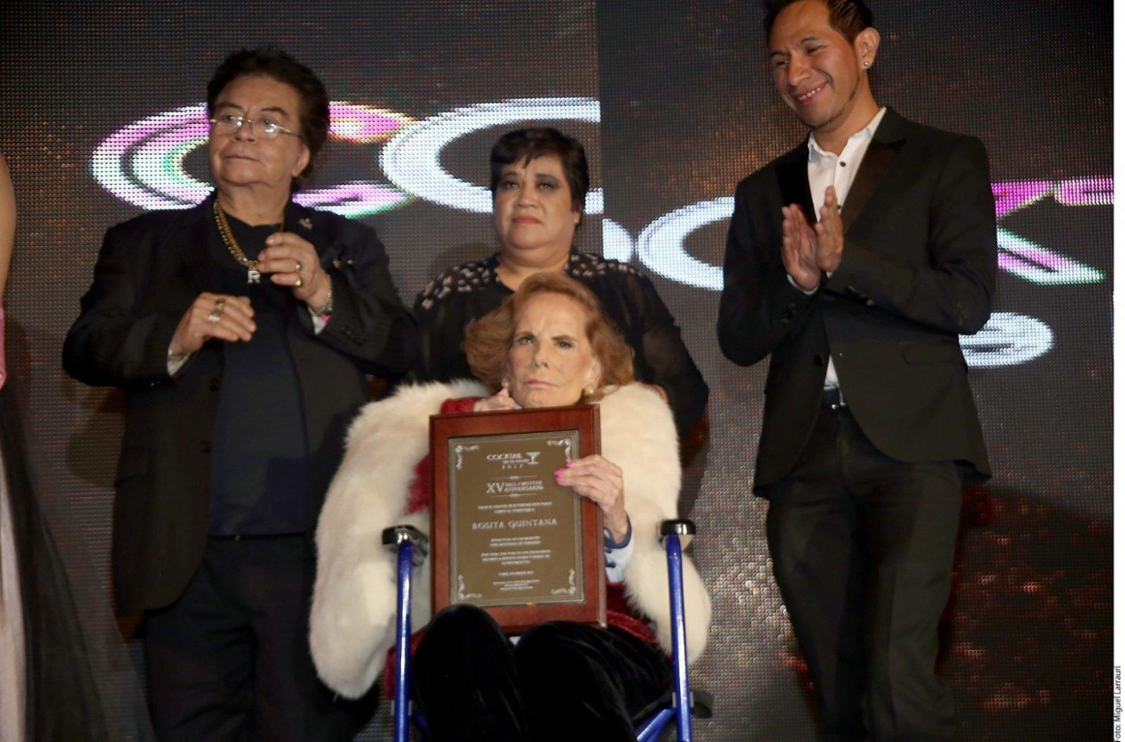 Homenajean A Rosita Quintana El Vigia