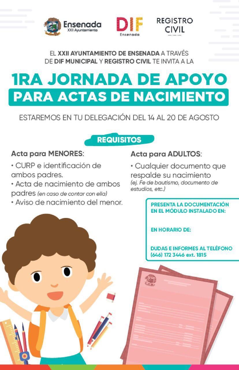 Promueve Mirna de Novelo jornada de apoyo para actas de nacimiento ...