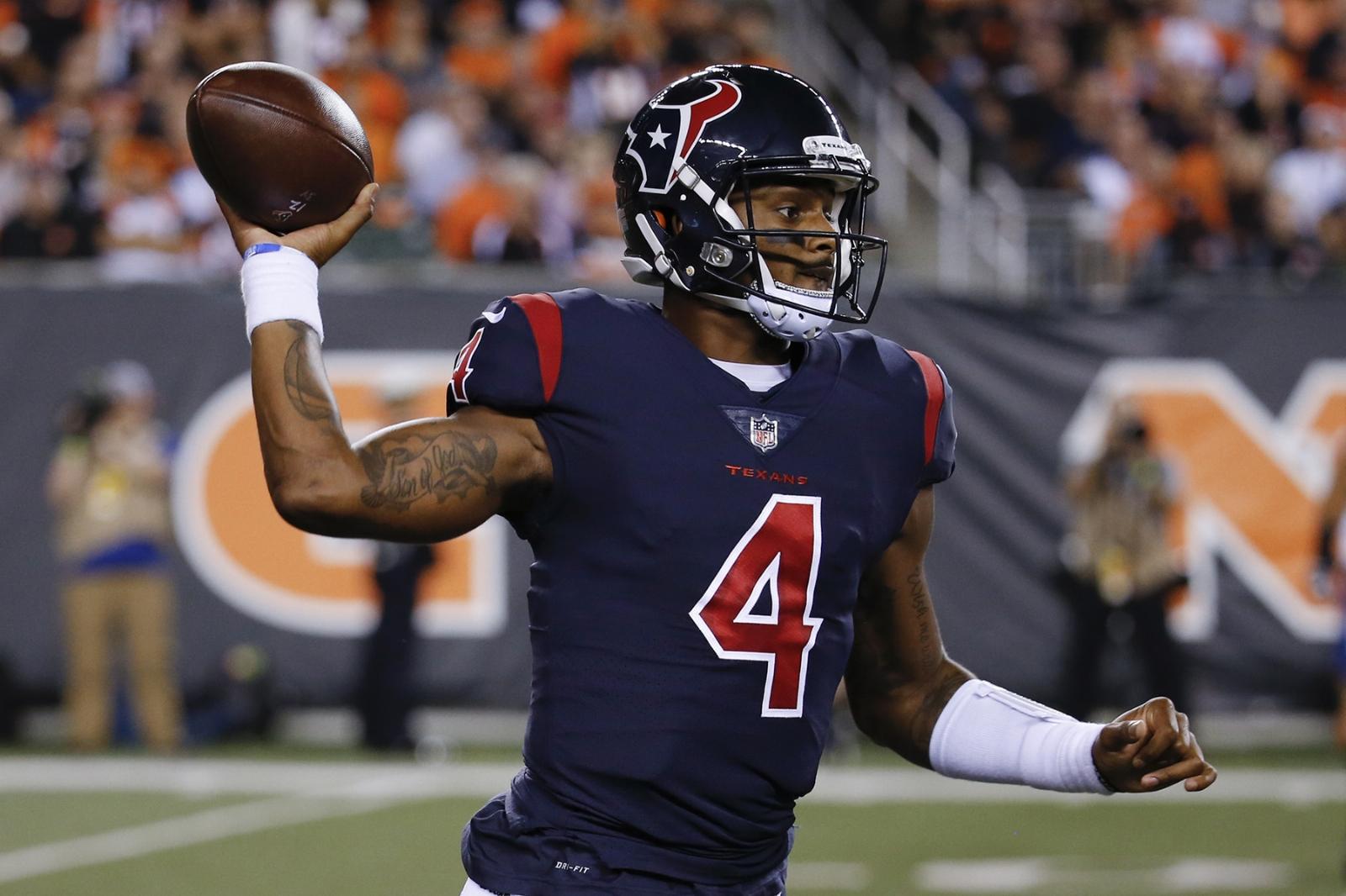 Deshaun Watson debuta con primer triunfo de Texans