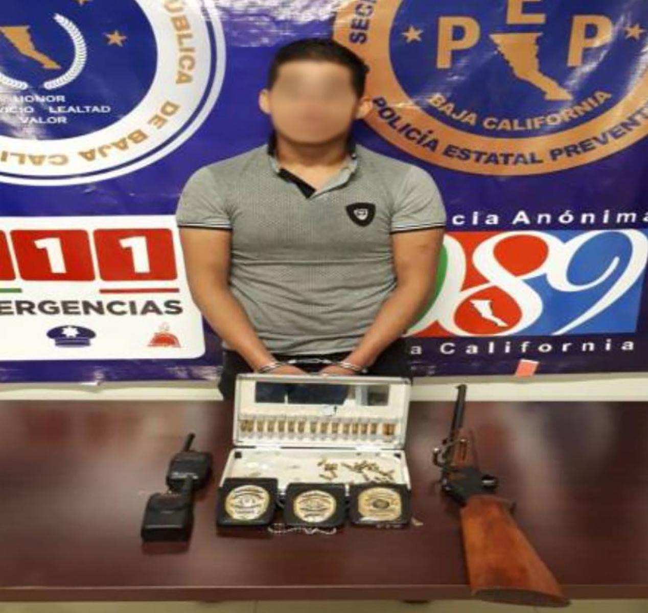 Detenido presunto integrante de un importante cártel en Infonavit Latinos