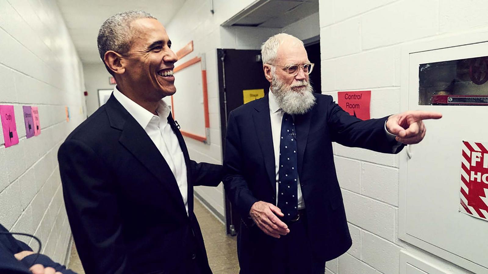 Abrirá con Obama nuevo show de Letterman