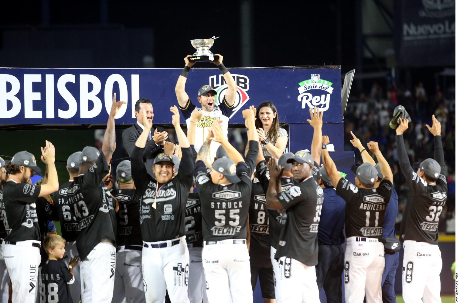 Sultanes de Monterrey se corona campeón en la segunda temporada 2018