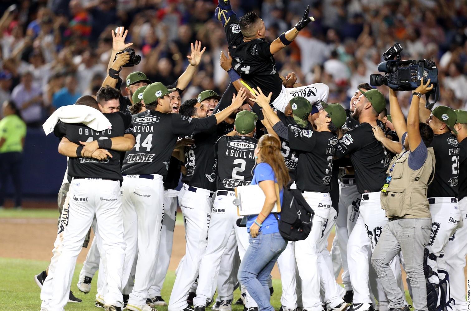 Sultanes de Monterrey, entre los más ganadores del beisbol en México