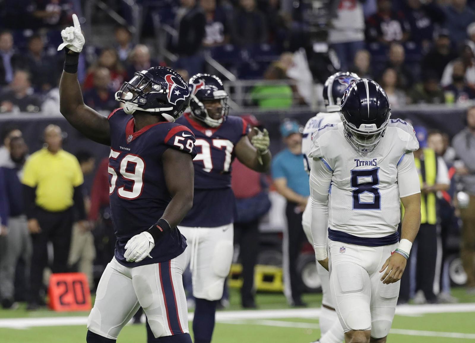 Con gran actuación de Deshaun Watson, Texanos se imponen a Titanes — NFL