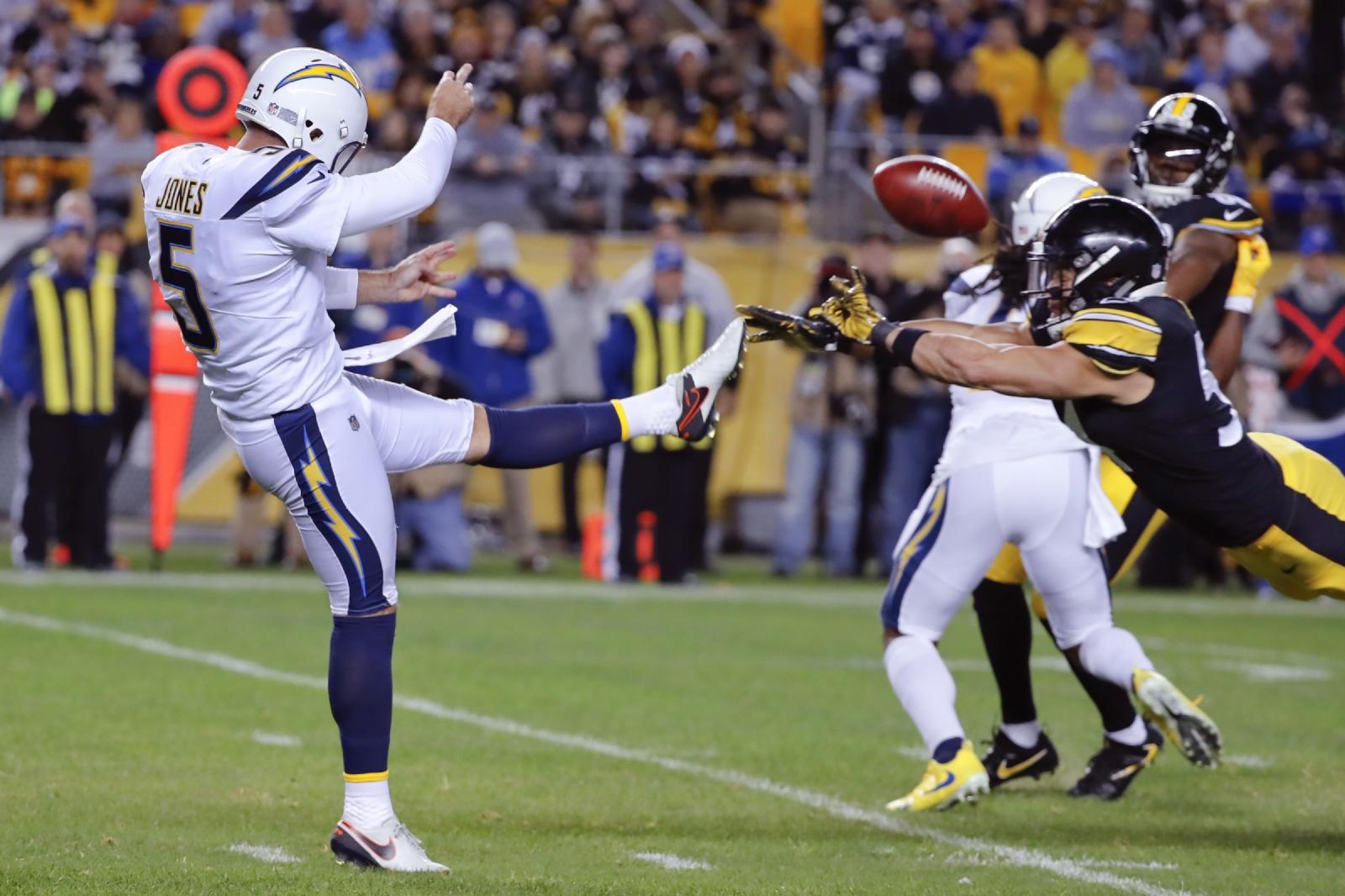 Asombrosa victoria de Chargers sobre Steelers