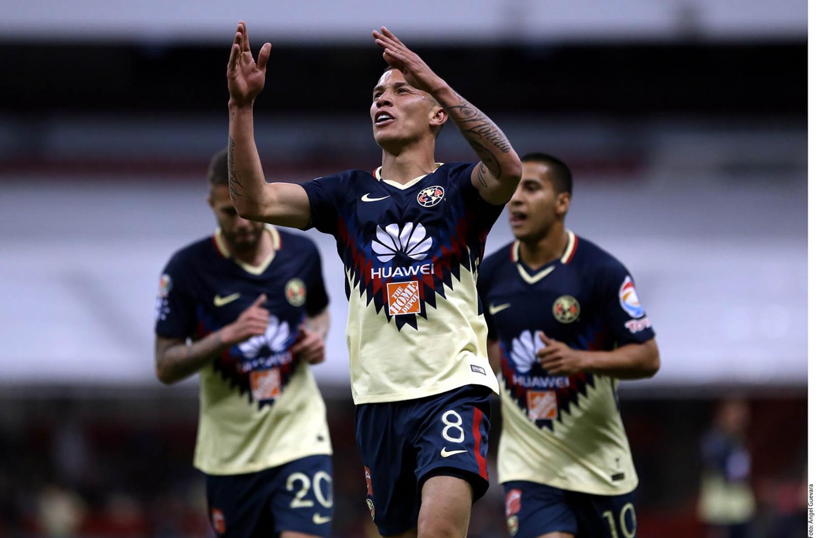América está imparable; goleó a Morelia en el Estadio Azteca
