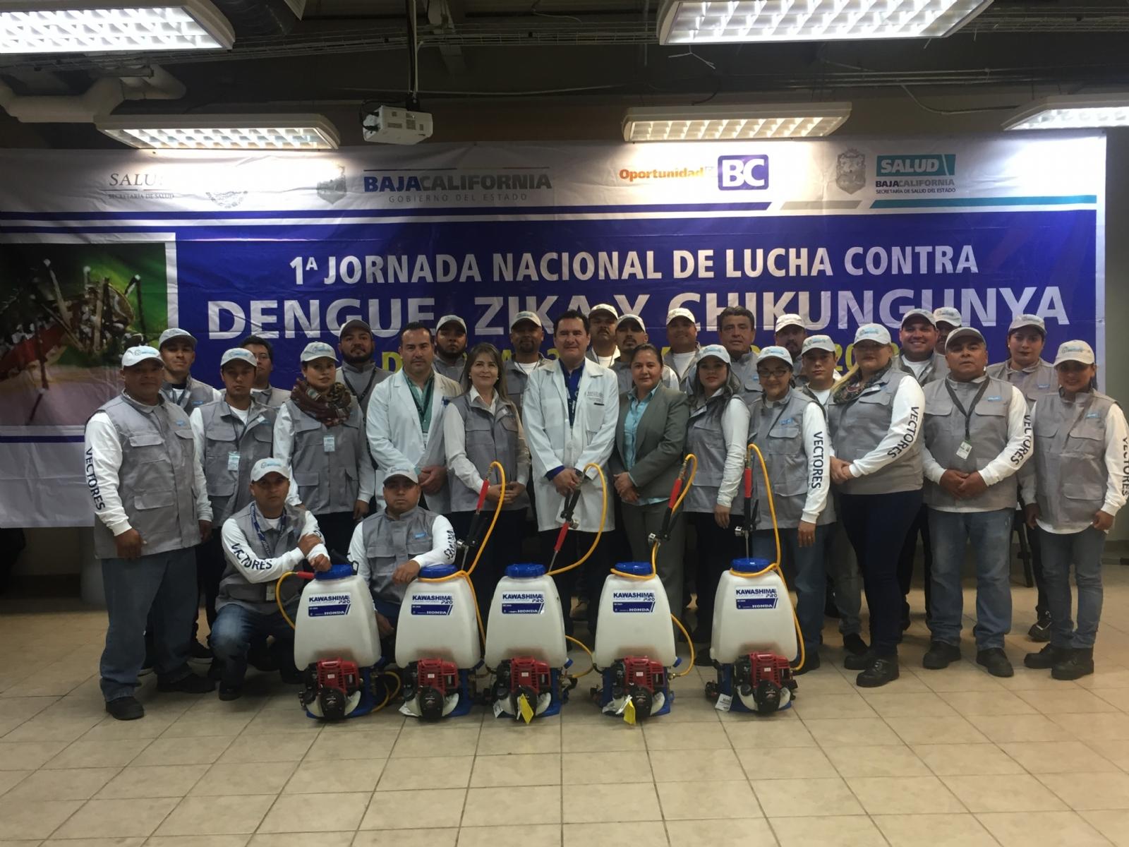 Inician acciones contra el dengue, zika y Chikungunya