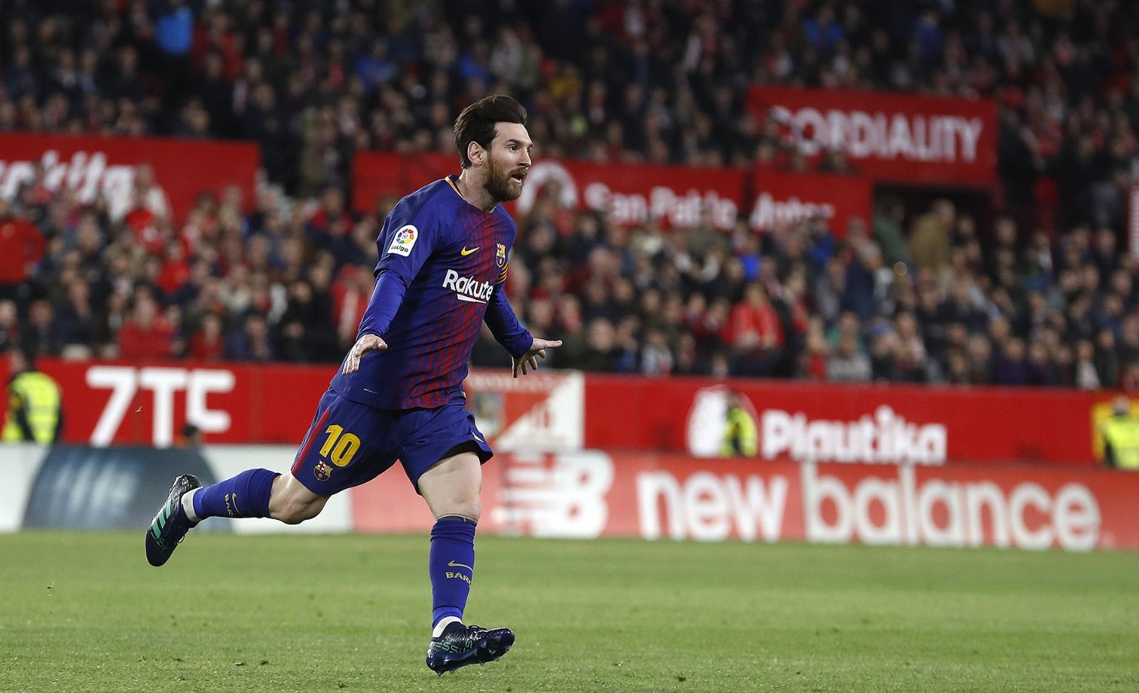 Lionel Messi mostró la carita de Ciro por primera vez