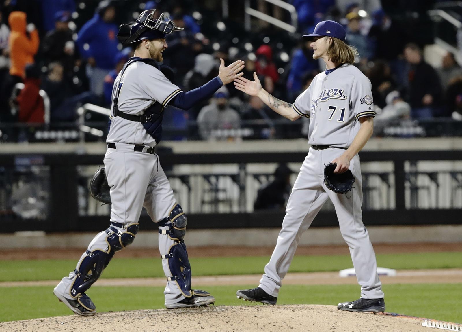 Cerveceros rompió la racha de victorias de los Mets