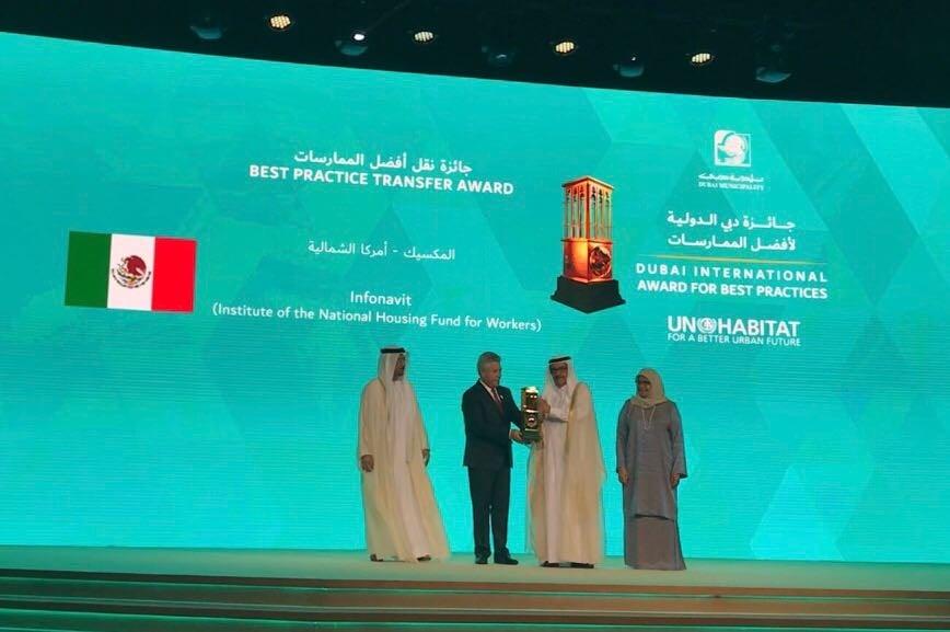 México, premiado en Dubái por políticas de desarrollo sostenible en ciudades
