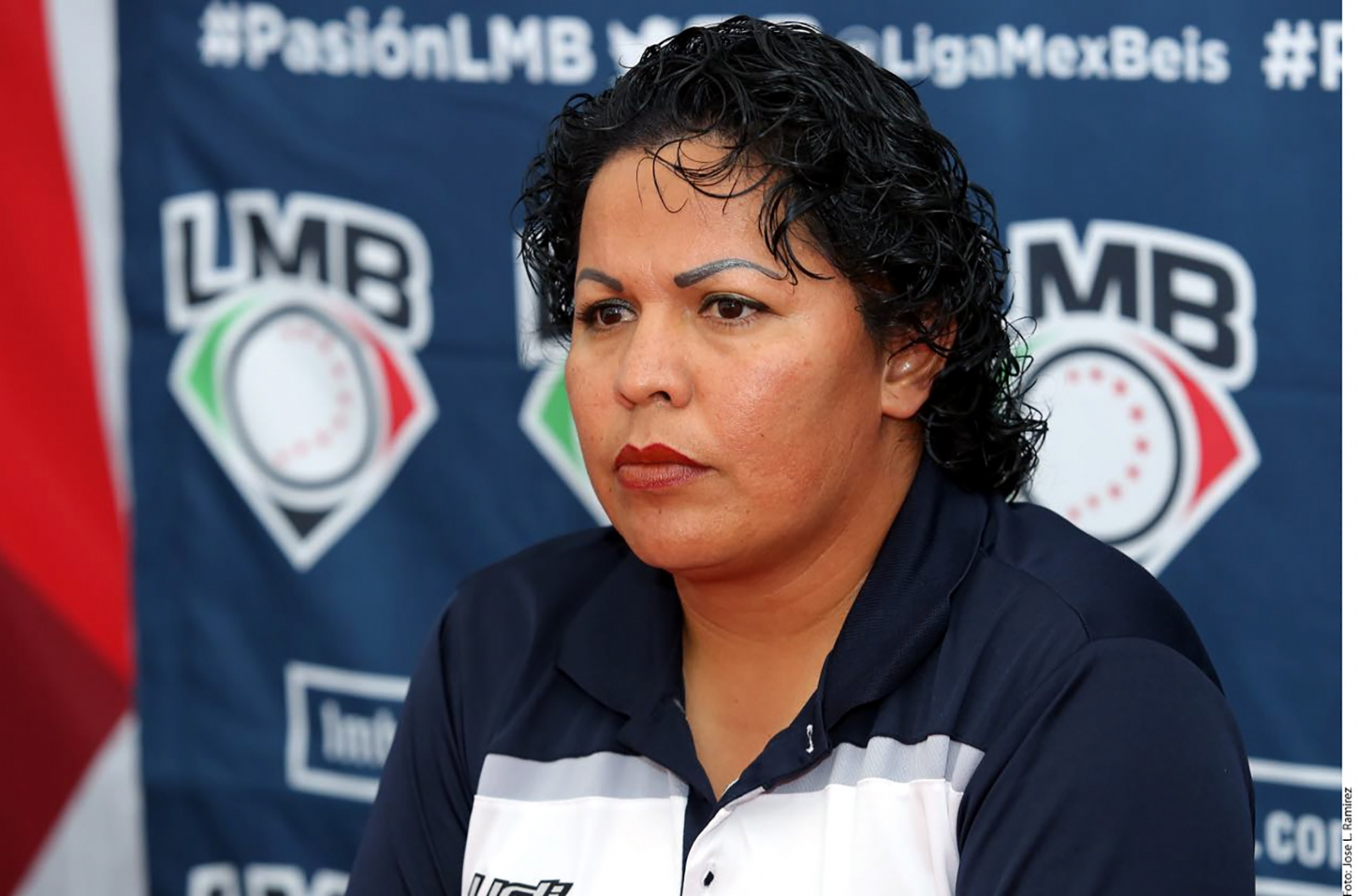 ¡Historia! Luz Gordoa, primera mujer ampáyer en la LMB
