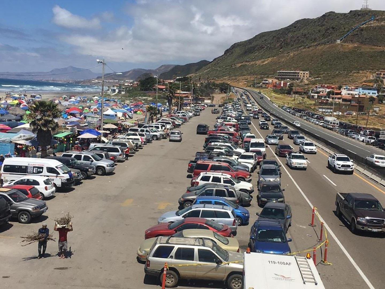 626e3e26 Alrededor de 20 mil vivitantes acudieron el sábado a la zona que comprende  Vista Hermosa y otras playas.