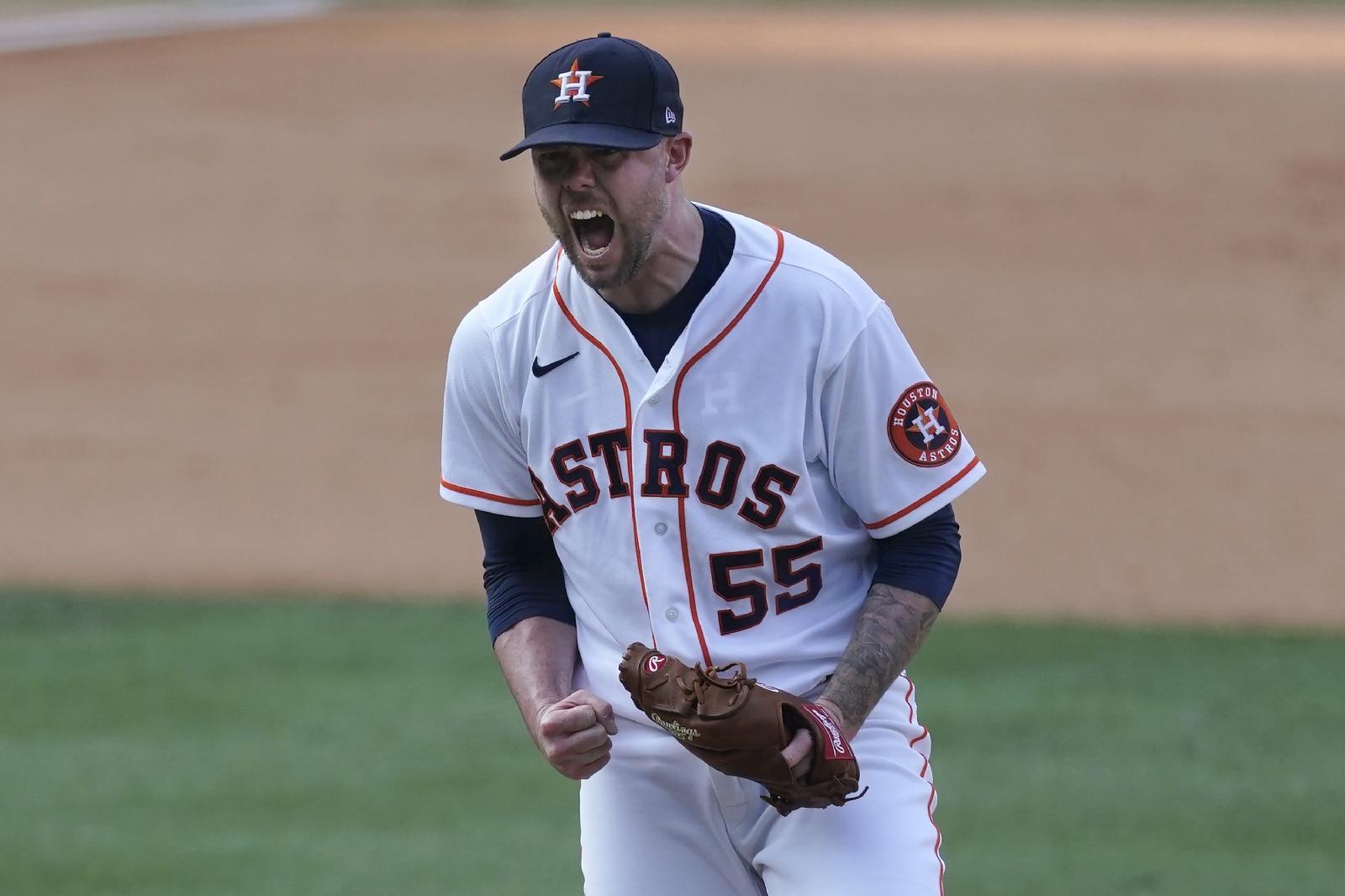 Astros avanzó a la serie de campeonato de la Americana