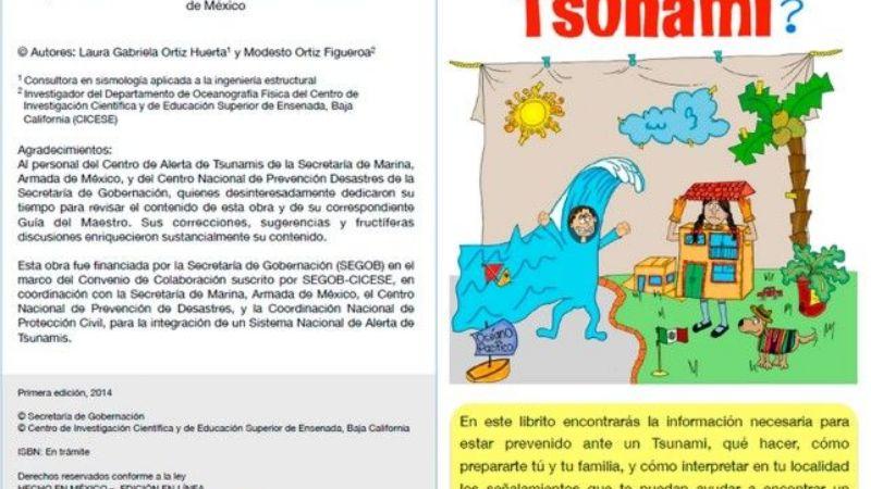 Crean Libro Electrónico Acerca De Los Tsunamis