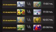 Horarios de los partidos de la Jornada 9 de la Liga MX