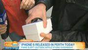 Es de los primeros en tener el iPhone 6 y lo tira al suelo