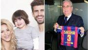 Hijo de Shakira y Piqu� se llamar� Sasha; ya es socio del Barcelona