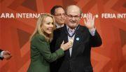 Salman Rushdie recibe la Medalla Carlos Fuentes