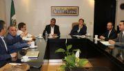 Se reune  Gobernador con integrantes del Colegio de Cirujanos Pl�sticos