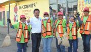 Programa de mejoramiento urbano recoge hasta 20 toneladas de basura a la semana