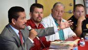 Refuerza Gilberto Hirata coordinaci�n con delegados ante posible arribo del fen�meno El Ni�o