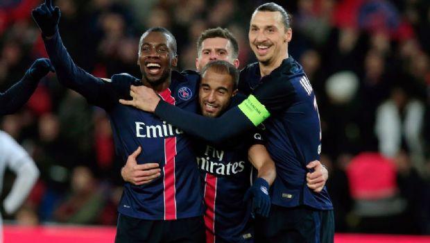 PSG golea con doblete de Di María y se aleja en Francia
