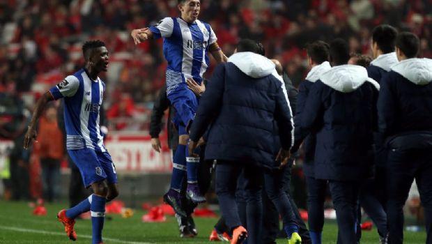 Con gol de Herrera, Porto supera a Benfica en el clásico