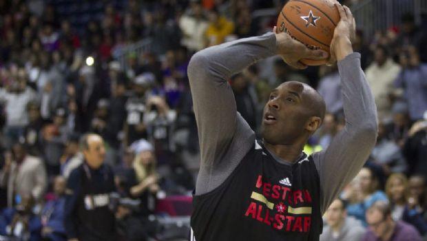 Kobe roba la atención antes de su último Juego de Estrellas
