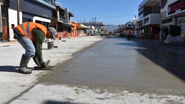 Por finalizar pavimentación de calle Ruiz entre Primera y Segunda