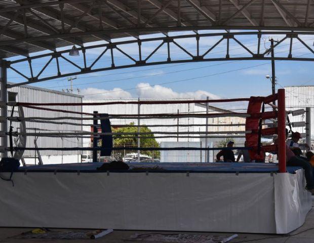 Listo nuevo gimnasio de boxeo el vig a for Gimnasio mejorada del campo