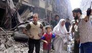 Viven semana de bombardeos