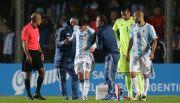 Sale Messi lesionado en amistoso