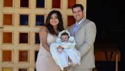 Recibe bautizo Romina Trevi�o