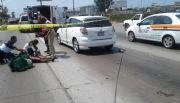 Atropellan a peat�n en la avenida Reforma