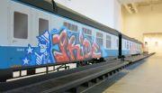 Tren con graffiti compite por premio Turner