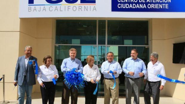 Inaugura gobernador Francisco Vega Centro Integral de Atención Ciudadana Oriente PGJE en Mexicali