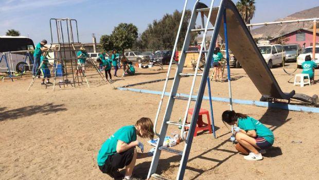 Pintan y reparan orfanato Casunam