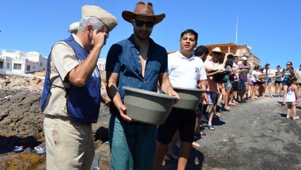 Liberan 15 mil totoabas en Puertecitos