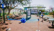 Inauguran espacio  público deportivo