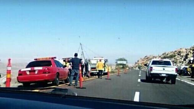 Permite APP '911MOVILBC' rescate de accidentado en La Rumorosa