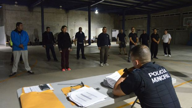 Finalizan policías  curso de evaluación