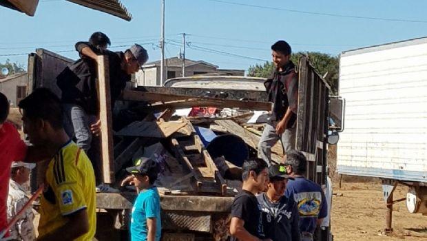 Participa XXII Ayuntamiento en actividades de labor social en la Vicente Guerrero
