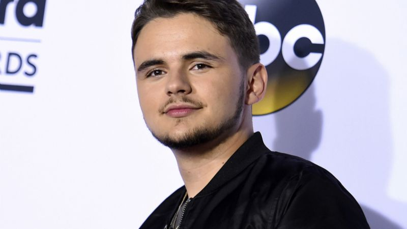 Prince Jackson se accidenta