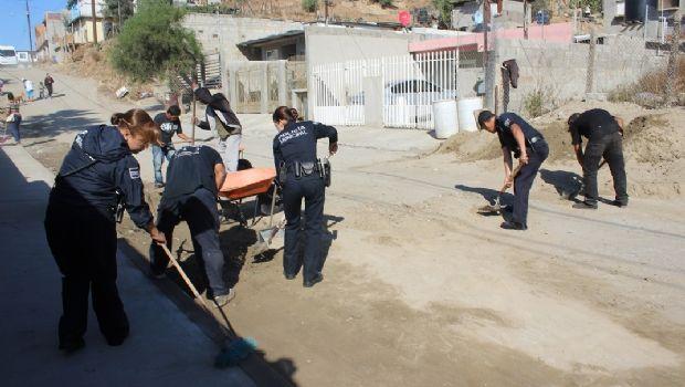 Remoza Prevención del Delito vialidades en la Morelos II